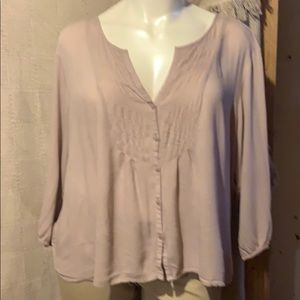 Old navy tunic top in taupe